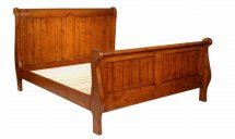 Vale Furnishers - Somerset 5ft Sleigh Bed