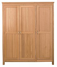 Vale Furnishers - Truro Triple Wardrobe