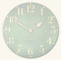 Art Marketing - Vale Furnishers Grand Duck Egg Wall Clock