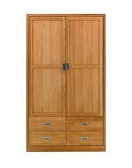 Vale Furnishers - Bedrooms - Juno Two Door Wardrobe