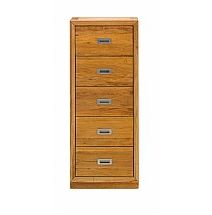 Vale Furnishers - Bedrooms - Juno Five Drawer Tallboy
