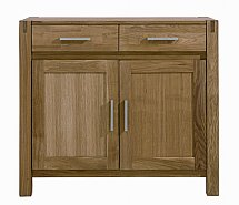 Vale Furnishers - Vale Oak Two Door Sideboard