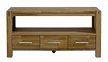 Vale Furnishers - Vale Oak TV Unit