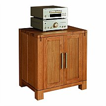 Vale Furnishers - Vale Oak CD and DVD Chest