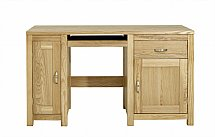 Vale Furnishers - Truro Single Computer Desk