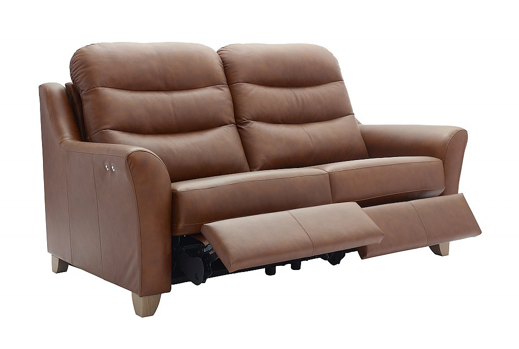 G Plan Upholstery Tate 3 Seater Leather Sofa