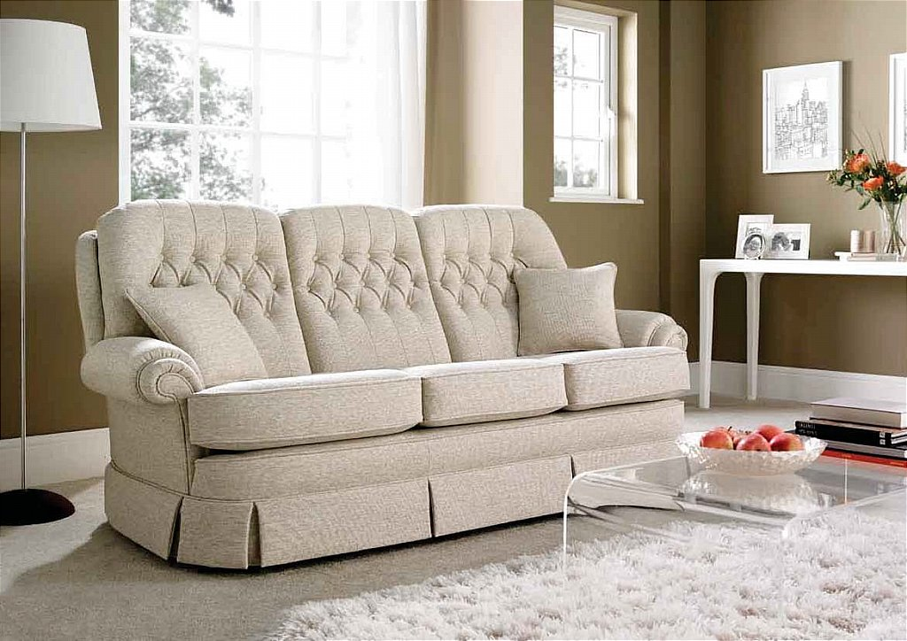 Vale Bridgecraft Capri 3 Seater Sofa