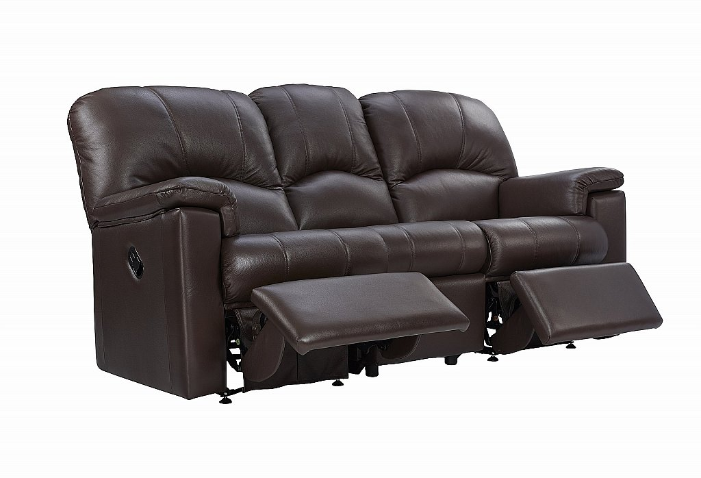 Awe Inspiring G Plan Upholstery Chloe 3 Seater Leather Recliner Sofa Machost Co Dining Chair Design Ideas Machostcouk