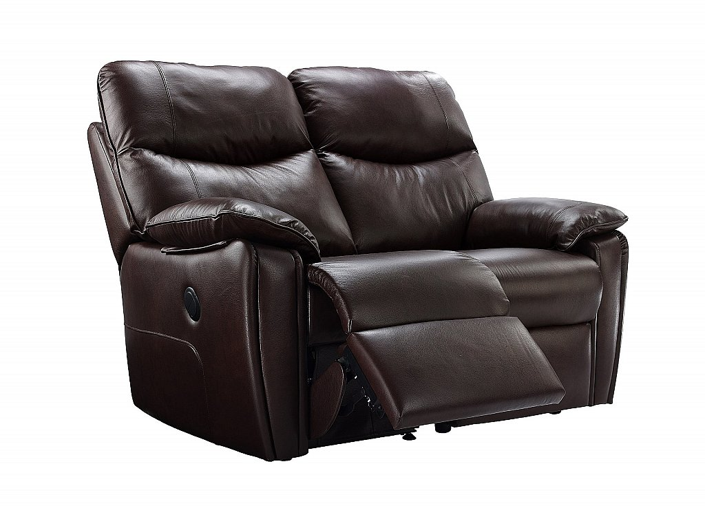 G Plan Upholstery Henley 2 Seater Leather Recliner Sofa