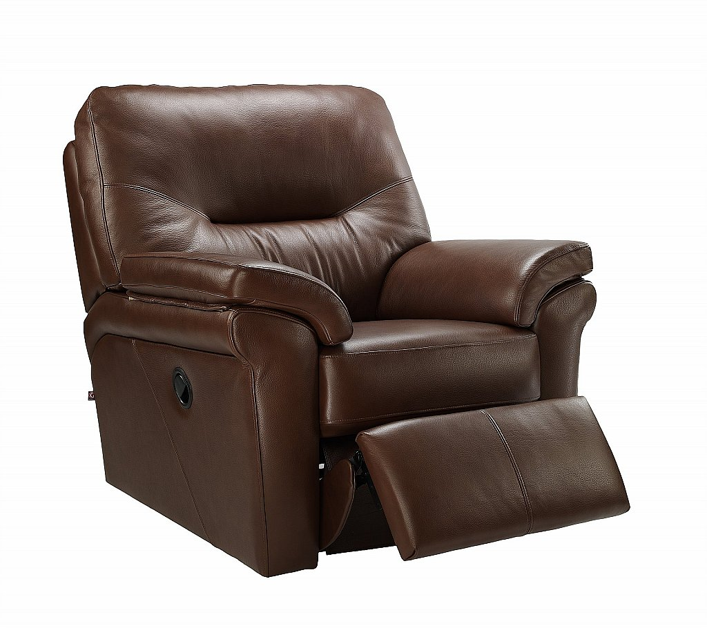 Awe Inspiring G Plan Upholstery Washington Leather Recliner Chair Machost Co Dining Chair Design Ideas Machostcouk