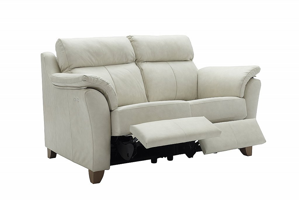 G Plan Upholstery The Turner 2 Seater Leather Recliner Sofa