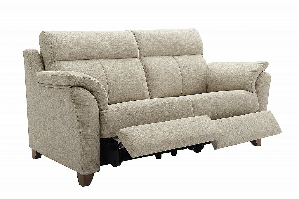 G Plan Upholstery The Turner 3 Seater Recliner Sofa