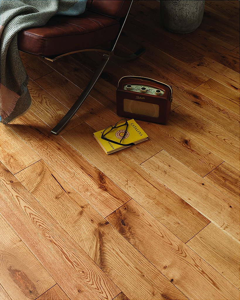 Flooring One York Rustic Oak Solid Wood Flooring