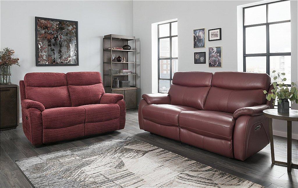 Lazboy Kendra 3 Seater Leather Sofa