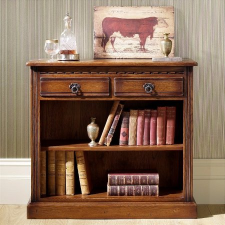 Old Charm - OC 2792 Low Open Bookcase