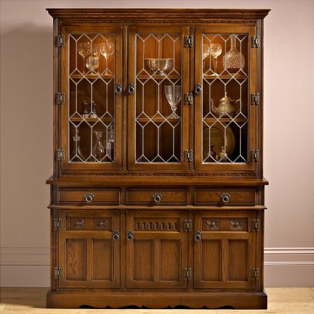 Old Charm - Lancaster Display Cabinet