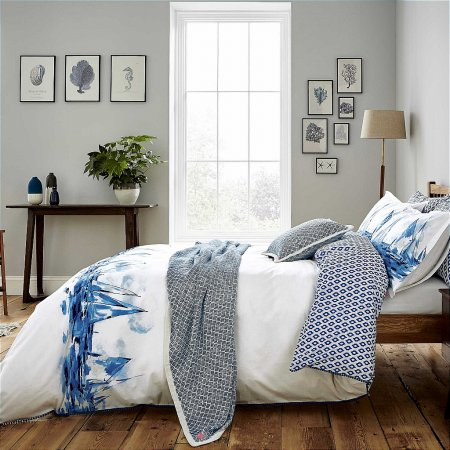 Bedeck - Joules Sailing Boats Bedding In Blue