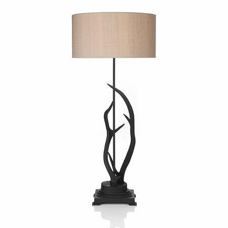 1559/David-Hunt/Antler-Black-Large-Table-Lamp