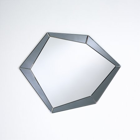 Deknudt Mirrors - Polygon Grey Mirror