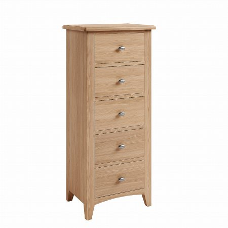 Mackay Collection - Gelos 5 Drawer Narrow Chest