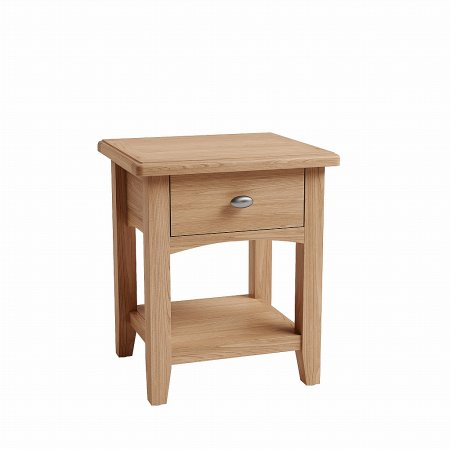 Mackay Collection - Gelos 1 Drawer Lamp Table