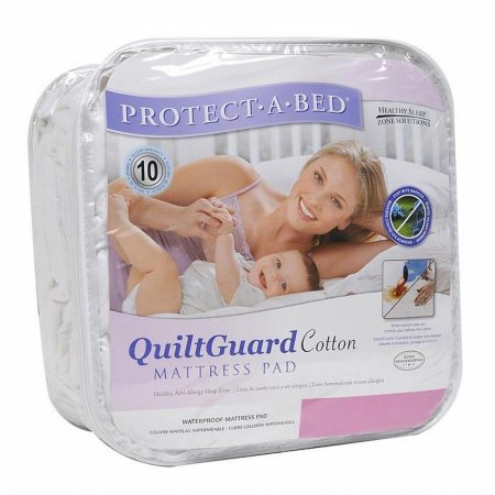 Protect A Bed - QuiltGuard Cotton Mattress Pad