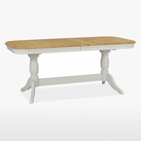 Stag - Cromwell Double Pedestal Table