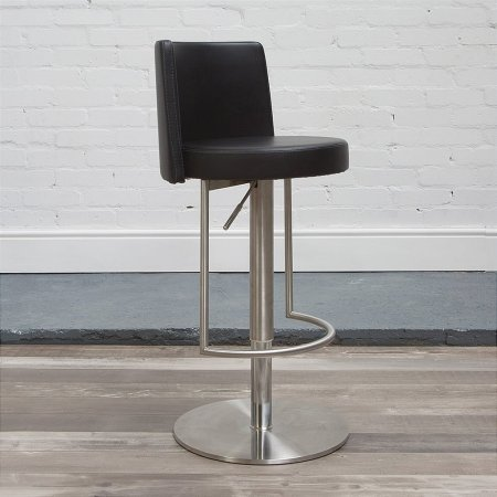 HND - Monza Bar Stool in Black