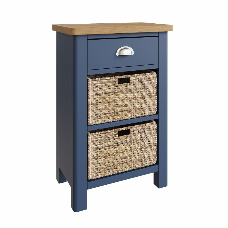 Kettle Interiors - RA 1 Drawer 2 Basket Unit