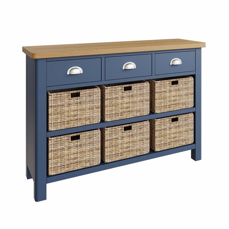 Kettle Interiors - RA 3 Drawer 6 Basket Unit