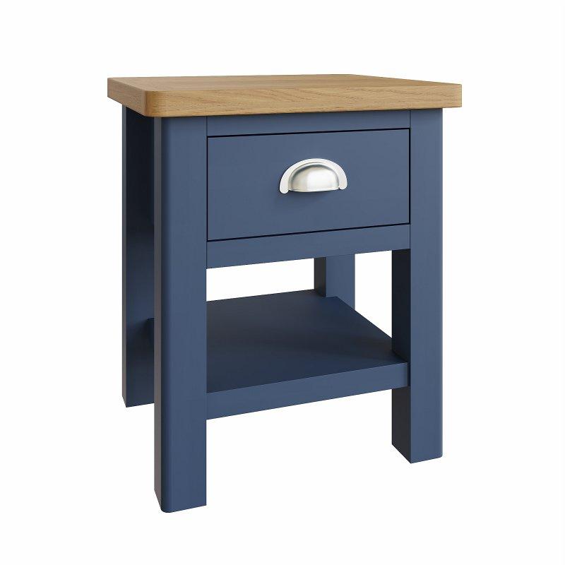 Kettle Interiors - RA 1 Drawer Lamp Table